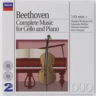 Mstislav Rostropovich (Мстислав Ростропович): Beethoven: Complete Music For Cello And Piano