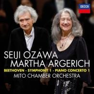 Martha Argerich (Марта Аргерих): Beethoven: Symphony No.1 in C; Piano Concerto No.1 in C