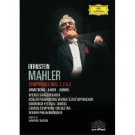 Leonard Bernstein (Леонард Бернстайн): Mahler: Symphonies Nos. 1, 2 & 3