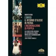 Nikolaus Harnoncourt (Николаус Арнонкур): Monteverdi: 3 Operas