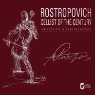 Мстислав Ростропович: Cellist of the Century -  The Complete Warner Recordings