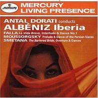 Antal Dorati (Антал Дорати): Albeniz: Iberia/ Falla: La Vida Breve/ Moussorgsky