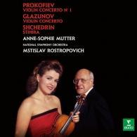 Anne-Sophie Mutter (Анне-Софи Муттер): Glazunov & Prokofiev: Violin Concertos