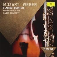 Hagen Quartett (Квартет Хаген): Mozart & Weber Clarinet Quintets