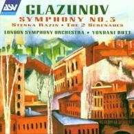 London Symphony Orchestra: Glazunov: Symphony No. 3; Stenka Razin; The 2 Serenades
