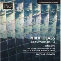 Nicolas Horvath: Glass: Piano Works 4: The Hours • Modern Love Waltz • Notes On A Scandal (2007 Version) • Music In Fifths