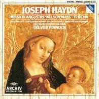 "Trevor Pinnock (Тревор Пиннок): Haydn: Missa in angustiis ""Nelson Mass""; Te Deum"
