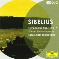 Leonard Bernstein (Леонард Бернстайн): Sibelius: Symphonies Nos.1,2,5&7