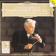 Herbert von Karajan (Герберт фон Караян): Beethoven: Symph.4,7