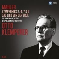 Otto Klemperer (Отто Клемперер): Symphonies 2, 4, 7 & 9; Das Lied Von Der Erde