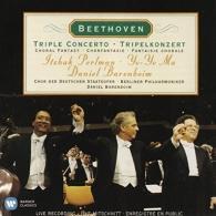 Itzhak Perlman (Ицхак Перлман): Triple Concerto, Choral Fantasy - Perlman, Ma, Barenboim, BPO