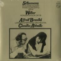 Alfred Brendel (Альфред Брендель): Schumann: Piano Concerto Or. 54; Weber: Konzertstuck