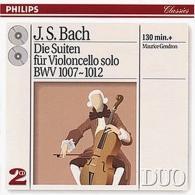 Maurice Gendron (Морис Гендрон): Bach, J.S.: The 6 Cello Suites