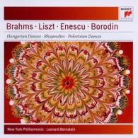 Leonard Bernstein (Леонард Бернстайн): Leonard Bernstein conducts Brahms, Liszt, Enescu & Borodin