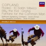 David Zinman (Давид Зинман): Copland: Rodeo; El Salon Mexico; Billy The Kid