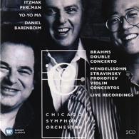 Itzhak Perlman (Ицхак Перлман): Erato & Teldec Recordings: Brahms Double Concerto, Mendelssohn Stravinsky Prokofiev Concertos - Perlman, Ma, Barenboim