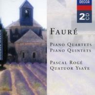 Pascal Rogé: Faure: Piano Quartets & Piano Quintets