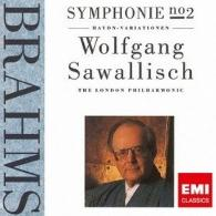 Wolfgang Sawallisch (Вольфганг Заваллиш): Brahms: Symphonyno.2 & Variations On A Theme By Haydn