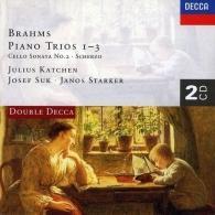 Josef Suk (Йозеф Сук): Brahms: Piano Trio Nos. 1-3/Cello Sonata No.2/Sche