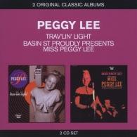 Peggy Lee (Пегги Ли): Basin St. Proudly Presents Peggy Lee/ Trav'lin' Light