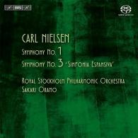 Carl Nielsen (Карл Нильсен): Symphonies Nos 1 & 3