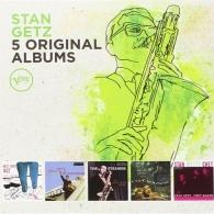 Stan Getz (Стэн Гетц): 5 Original Albums: Verve