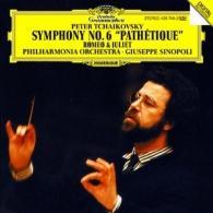 Giuseppe Sinopoli (Джузеппе Синополи): Tchaikovsky: Symphony No.6; Romeo And Julia