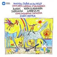 Itzhak Perlman (Ицхак Перлман): Peter And The Wolf / Carnival Of The Animals - Perlman (Narrator), K. & M. Labeque, Mehta