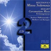 Herbert von Karajan (Герберт фон Караян): Beethoven: Missa Solemnis / Mozart: Coronation Mas