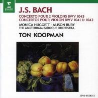 Ton Koopman (Тон Копман): Concertos - For 2 Violins In D Minor; For Violin In E Major & A Minorur 2 Violons Bwv1043, 1 Bwv1041/ 1042