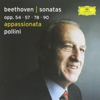 Maurizio Pollini (Маурицио Поллини): Beethoven: Piano Sonatas Opp. 54, 57, 78, 90