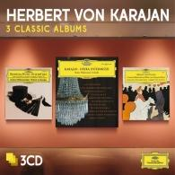 Herbert von Karajan (Герберт фон Караян): 3 Classic Albums: Opera Intermezzi, Offenbach, Von Suppe