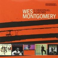 Wes Montgomery (Уэс Монтгомери): 5 Original Albums: Concord
