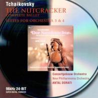 Antal Dorati (Антал Дорати): Tchaikovsky: The Nutcracker/Suites Nos.3 & 4