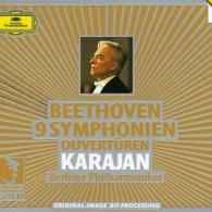 Herbert von Karajan (Герберт фон Караян): Beethoven: 9 Symphonies; Overtures