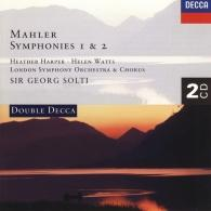Sir Georg Solti (Георг Шолти): Mahler: Symphonies Nos. 1 & 2