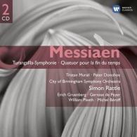 Simon Rattle (Саймон Рэттл): Turangalila/Quatuor Pour La Fin Du Temps/Le Merle Noir