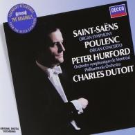 Peter Hurford: Saint-Saens: Symphony No.3 etc