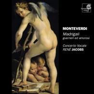 Rene Jacobs (Рене Якобс): Monteverdi / Madrigaux, Livre Viii/Concerto Vocale, Rene Jacobs