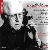 Mstislav Rostropovich (Мстислав Ростропович): M. Rostropovitch / Short Portrait: Dvorak : Concerto. Schumann : Concerto. Tchaikovski : Pezzo Capriccioso