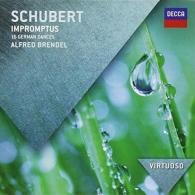 Alfred Brendel (Альфред Брендель): Schubert: Impromptus