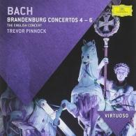 Trevor Pinnock (Тревор Пиннок): Bach, J.S.: Brandenburg Concertos Nos.4-6