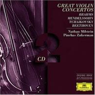 Pinchas Zukerman (Пинхас Цукерман): Brahms · Mendelssohn · Tchaikovsky · Beethoven