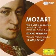 Itzhak Perlman (Ицхак Перлман): Mozart: Violin Concertos