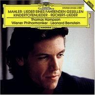 Leonard Bernstein (Леонард Бернстайн): Mahler: Lieder eines fahrenden Gesellen; Kindertot