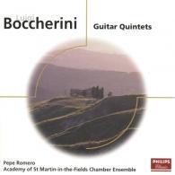 Pepe Romero (Пепе Ромеро): Boccherini: Quintets For Guitar & Strings