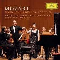 Maria Joao Pires (Мария Жуан Пиреш): Mozart: Piano Concertos 20&27