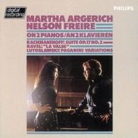 Martha Argerich (Марта Аргерих): Rachmaninov: Suite No.2/ Lutoslawski: Paganini Variations