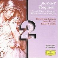 Herbert von Karajan (Герберт фон Караян): Mozart: Requiem; Great Mass in C minor; Missa brev