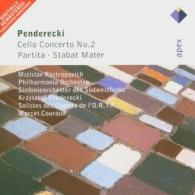 Мстислав Ростропович: Cello Concerto No.2, Partita & Stabat Mater